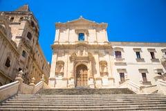 NOTO, igreja de ITÁLIA - de Assisi do ` de San Francesco D Imagens de Stock Royalty Free