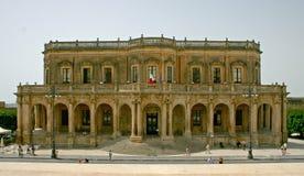 Noto Palazzo Ducezio Royalty-vrije Stock Foto