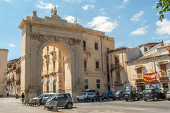 Noto - Porta Reale Royalty Free Stock Images