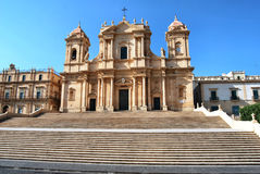 Noto - Sicília Imagens de Stock