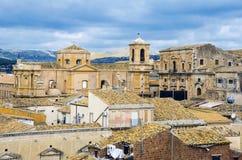 Noto, Sicilië Royalty-vrije Stock Foto's
