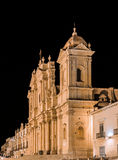 Noto Sicily cathedral Stock Photography