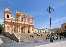 Noto,Sicily, Italy Stock Images