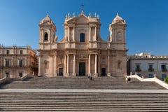 Noto SiracusaSicily, Italien Arkivbild