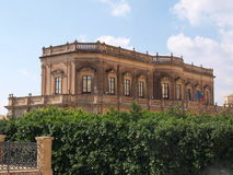 Noto Town Hall. Photo took in Noto on Sicily royalty free stock photo