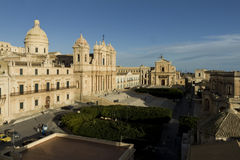 Noto view, Sicily Royalty Free Stock Image