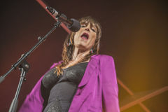 Notodden blues festival 2013, beth hart band, usa Royalty Free Stock Photos