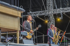Notodden blues festival, the james hunter six, cropped Stock Photos