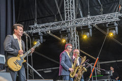 Notodden blues festival, the james hunter six, cropped Stock Image