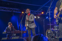 Notodden blues festival 2013, little andrew Royalty Free Stock Image