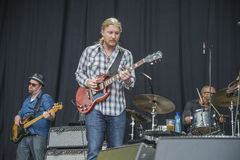Notodden blues festival 2013, tedeschi trucks band, usa. Stock Photography