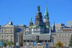 Notre贵妇人de好的妙语Secours教堂,蒙特利尔,加拿大 免版税库存图片