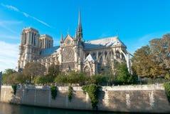 Notre达默大教堂 库存图片