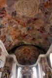 Notre église de Madame à Aschaffenburg, Allemagne Image libre de droits