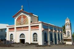 Notre εκκλησία κυρίας des laves Sainte-Rose de Λα Reunion, Γαλλία στοκ φωτογραφίες με δικαίωμα ελεύθερης χρήσης