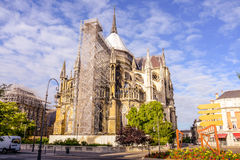 Notre κυρία de Reims Στοκ φωτογραφία με δικαίωμα ελεύθερης χρήσης