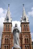 Notre Dam cathedral in Ho Chi Minh city Royalty Free Stock Images