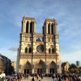 Notre Dam. Church in Paris Stock Image