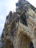 Notre Damae de Reims, Francja Obrazy Royalty Free