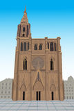 Notre Damae De Strasburg Fotografia Royalty Free