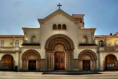 Notre Damae Des Przyczepia HDR zdjęcie royalty free