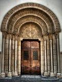 Notre Damae Des Przyczepia Wejściowego HDR obrazy royalty free