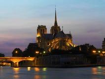 Notre Damae katedra Zdjęcia Royalty Free