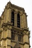Notre Damae katedra czerep Zdjęcie Stock