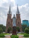 Notre Damae katedra Ho Chi Minh, Wietnam (,) Fotografia Royalty Free