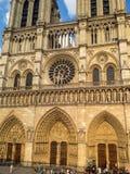 Notre Damae katedra Paryż, Francja obraz royalty free