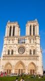 Notre Damae katedra, Paryż, Francja Zdjęcie Stock
