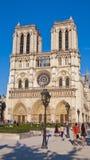 Notre Damae katedra, Paryż, Francja Zdjęcia Stock