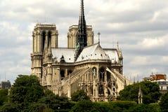 Notre Damae Katedra, Paryż, Francja Obraz Stock
