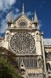 Notre Damae katedry wierza Fotografia Stock