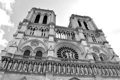 Notre Damae, Paryż Fotografia Royalty Free