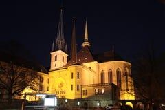 Notre Dame卢森堡 免版税库存图片