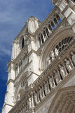 Notre Dame大教堂,巴黎 库存图片