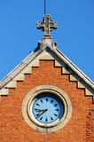 Notre Dame大教堂,胡志明市吸引力细节  免版税库存照片