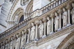 Notre Dame大教堂 库存照片