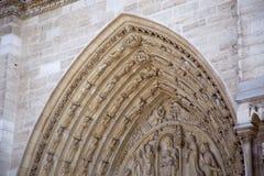 Notre Dame大教堂 免版税库存照片