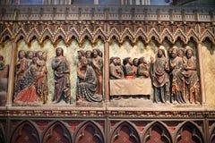Notre Dame大教堂 库存图片