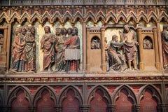 Notre Dame大教堂 图库摄影