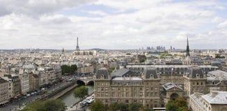 Notre Dame巴黎视图 免版税库存图片