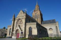 Notre Dame教会在加来 免版税库存图片