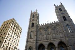 Notre Dame魁北克大教堂  库存图片