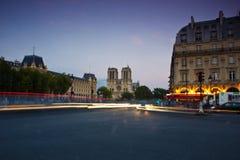 Notre Dame,巴黎 图库摄影
