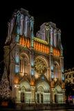 Notre Dame à Nice Photo libre de droits