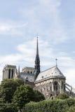 Notre Dame à Paris Image stock