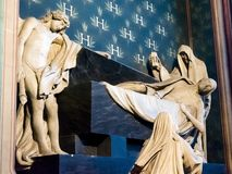 Notre Dame μέσα στοκ φωτογραφίες με δικαίωμα ελεύθερης χρήσης