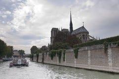 Notre Dame, Παρίσι Στοκ εικόνα με δικαίωμα ελεύθερης χρήσης